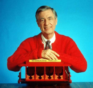 quote from Fred Rogers, a.k.a.