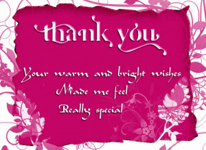 Thank You For Birthday Wishes Image