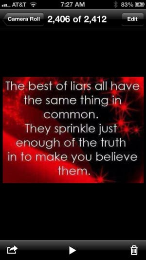 Quotes About Players And Liars