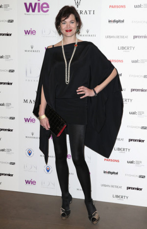 Jasmine Guinness Jasmine Guinness attends the LDNY Fashion show and
