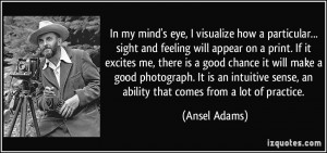 More Ansel Adams Quotes
