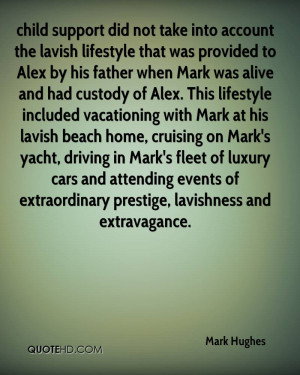 was provided to Alex by his father when Mark was alive and had custody ...
