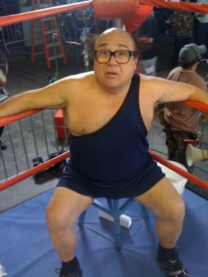 Frank is portrayed by Danny DeVito .
