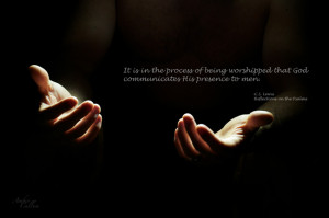 31 Days of C.S. Lewis Quotes: Day 10, Worship