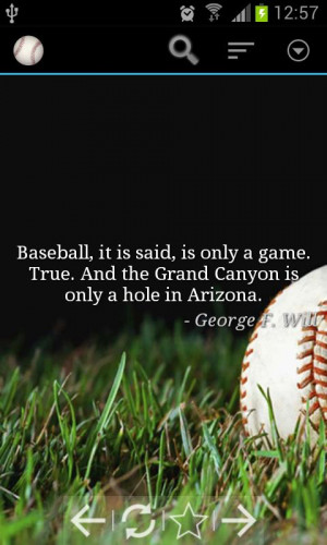 Baseball Quotes - screenshot
