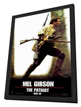The Patriot - 27 x 40 Movie Poster - Style A - in Deluxe Wood Frame