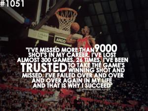 Good Morning Sunday – Michael Jordan on Failure