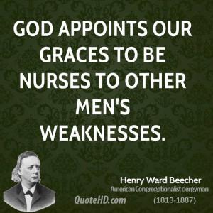 Henry Ward Beecher Men Quotes