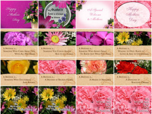 ... Mothers Day Mini Pak are eight quotes honoring Mothers. We have also