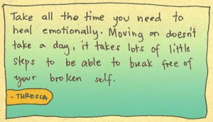 Pictures Gallery of inspirational quotes for a broken heart