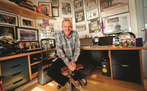 Norman Cook interview for University of Brighton PICTURE BY JIM HOLDEN