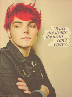 my chemical romance gerard way quote