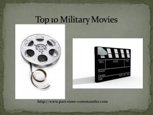 My Top Ten Favorite Military Movies
