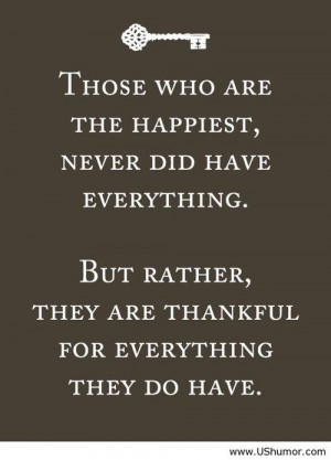 Be thankful quote US Humor - Funny pictures, Quotes, Pics, Photos, ...