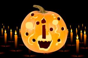 Carve Pumpkin Happy Birthday
