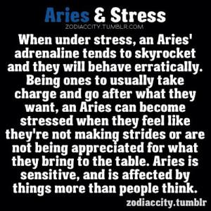 zodiac #sign #Aries & #stress #astrology #zodiaccity @kisasohma_