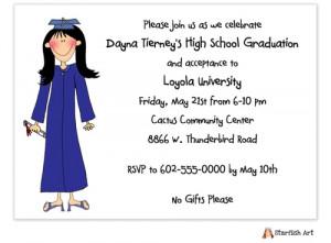 2014 Graduation Party Invitations