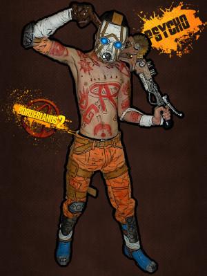 Cosplay:Psycho from Borderlands 2 by dudeduke94