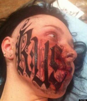 Tatuajes raros: tras 24 horas de flechazo se tatúa su nombre en la ...