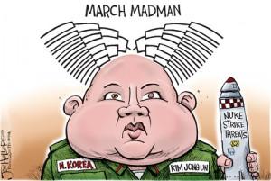 Funny Picture North Korea - March Madmen - Kim Jong-un