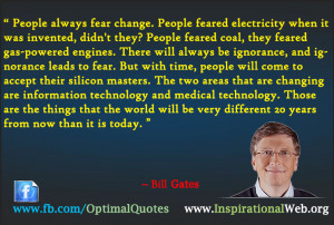 The Great Thoughts of Bill Gates