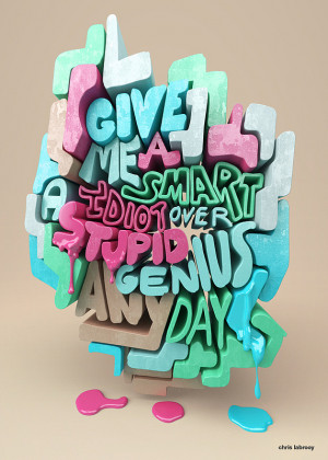 Designer's 3D Project Makes Samuel Goldwyn Quotes Drip, Shine