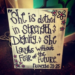 Cute painted canvas - my favorite bible verse! by mamacass13@gmail.com