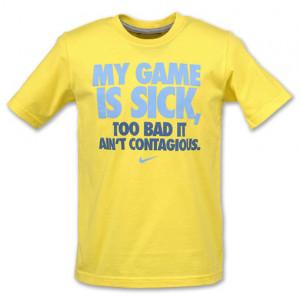 nike basketball never stops nike boys t shirt sports nike sayings ...
