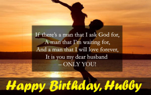 Happy Birthday To My Husband Quotes HD
