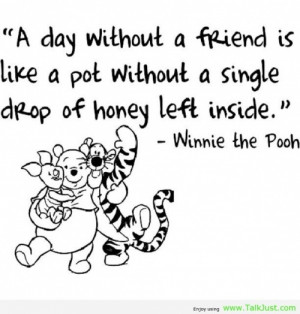 quotes about girl friends quotes about girl friends A day without a ...