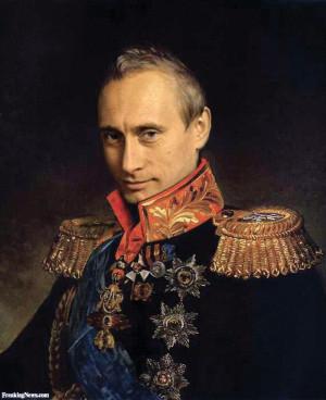 Tzar Vladimir Putin - pictures