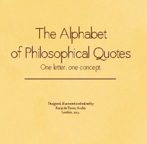 Click to zoom The Alphabet of Philosophical Quotes photo book cover