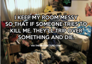 messy room quotes quotesgram