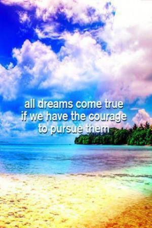 All Dreams Come True