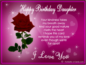 Daughters Birthday Wishes From Mom | Birthday Wishes for Daughter ...