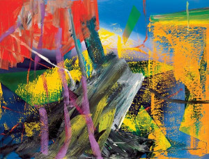 Gerhard Richter is a German visual artist . His works are abstract ...