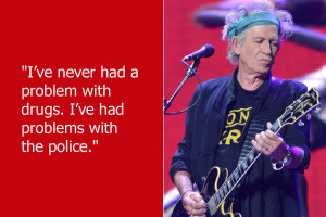 Keith Richards of Rolling Stones fame doesn't have a problem with ...