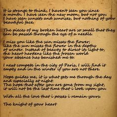 Most Beautiful Quotes Ever Written The most beautiful letter ever