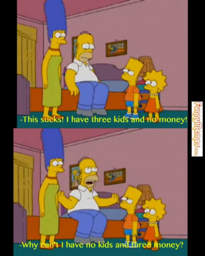 Funny memes – [Three kids and no money]