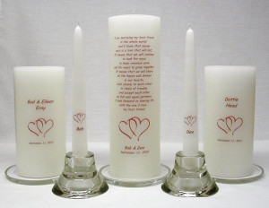 Some holder options are available on the Candle Holders page.