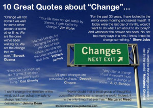 10 great quotes about change - Barack Obama, William James, Jim Rohn ...