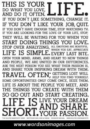 Most popular quotes about life