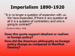 How does this quote differ from the one on the previous slide? How did ...