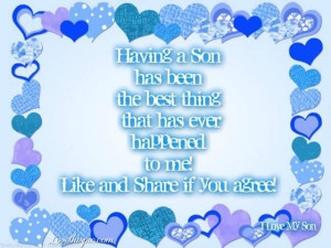 Having a son quotes quote family quote family quotes son quotes by ...