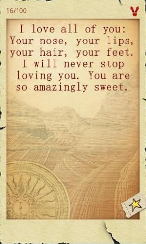 Naughty romantic quotes.