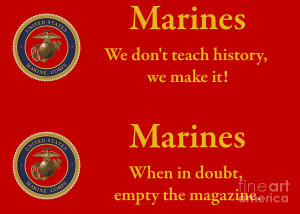 Marine Sayings 1 Photograph