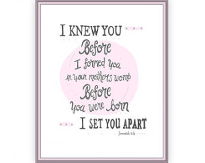 ... Verse, Christian Baby Shower, 8x10 gray-pink-grey, religious baby gift