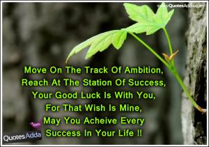 Good Luck Future Life Quotations in English 1583   QuotesAdda.com ...