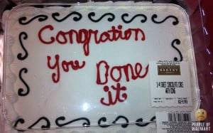 Redneck Graduation Cake