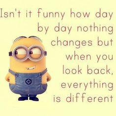 Minions make me smile!!!! ️